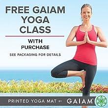 Gaiam Yoga Mat - 5mm Thick