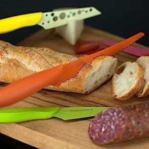 kai pure komachi 2 sharp cheap knives affordable knife set kitchen knives