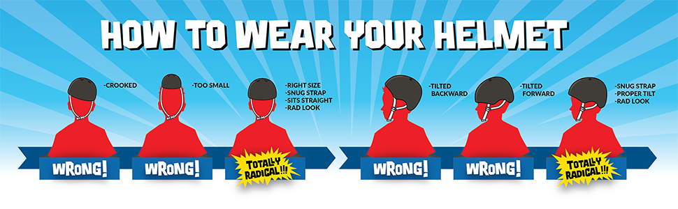 helmet safety⸴ how to wear your helmet