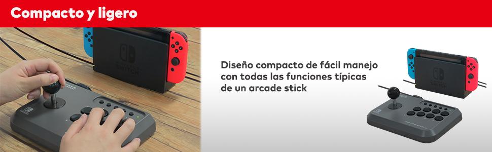 stick switch, stick pc, fighting switch, lucha switch, arcade switch