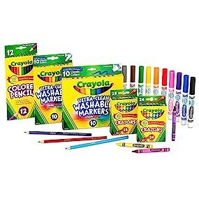 Crayola Back to School 2017 Set Grades K-2
