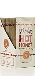squeeze packs mike's hot honey on the go purse hot sauce sweet