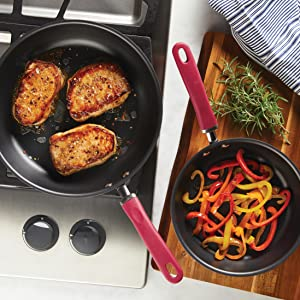 cookware, pots and pans, nonstick pan, skillet