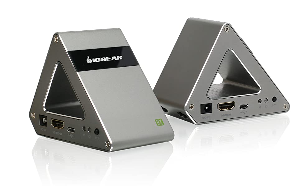 Transmitter, Receiver, IOGEAR, Video Transmitter, Video Receiver