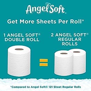Angel Soft Papel Higiénico 79169 1 Health Personal Care