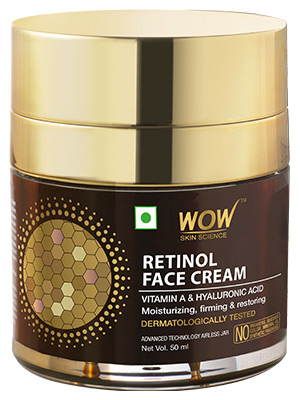 WOW Skin Science Retinol Face Cream