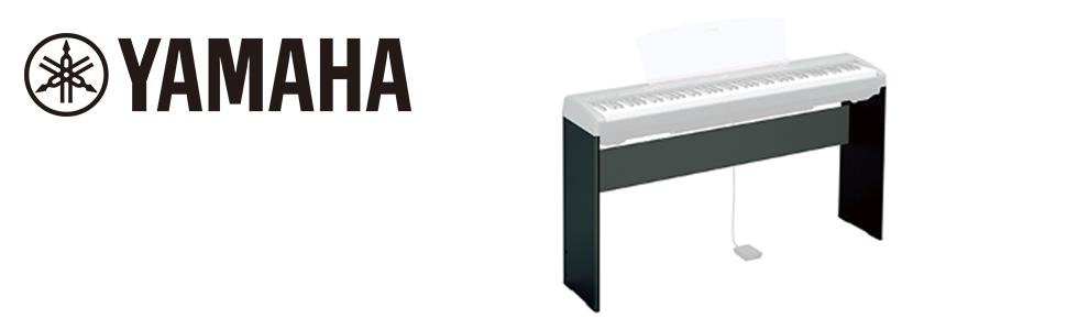 Yamaha L-85A - Soporte ligero de metal para órganos y teclados Yamaha, color Negro