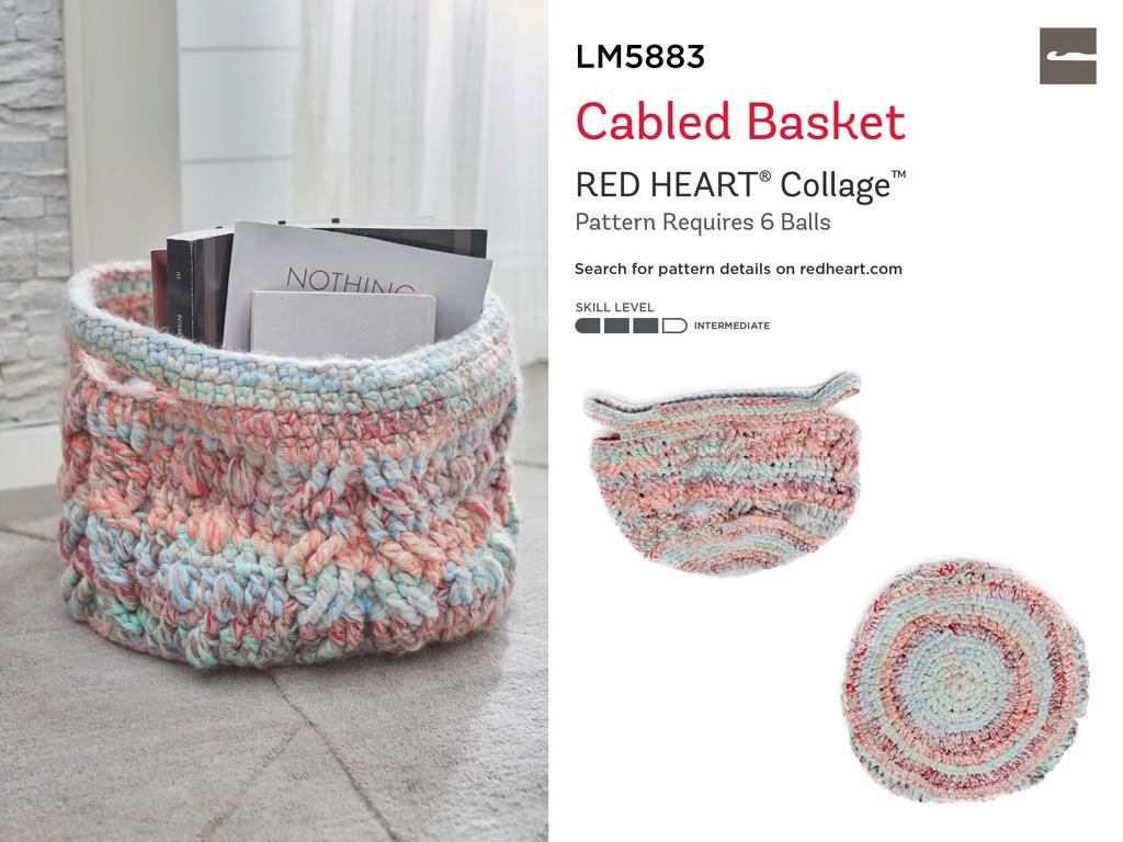 Forget Me Not RED HEART Collage Yarn