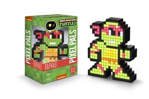 PDP Pixel Pals Teenage Mutant Ninja Turtles Raphael Collectible Lighted Figure