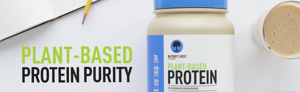 Natures Best Plant Protein Header Banner