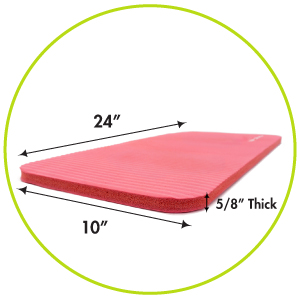joints ace bolster brace donut discomfort exercise cover protector ProSource