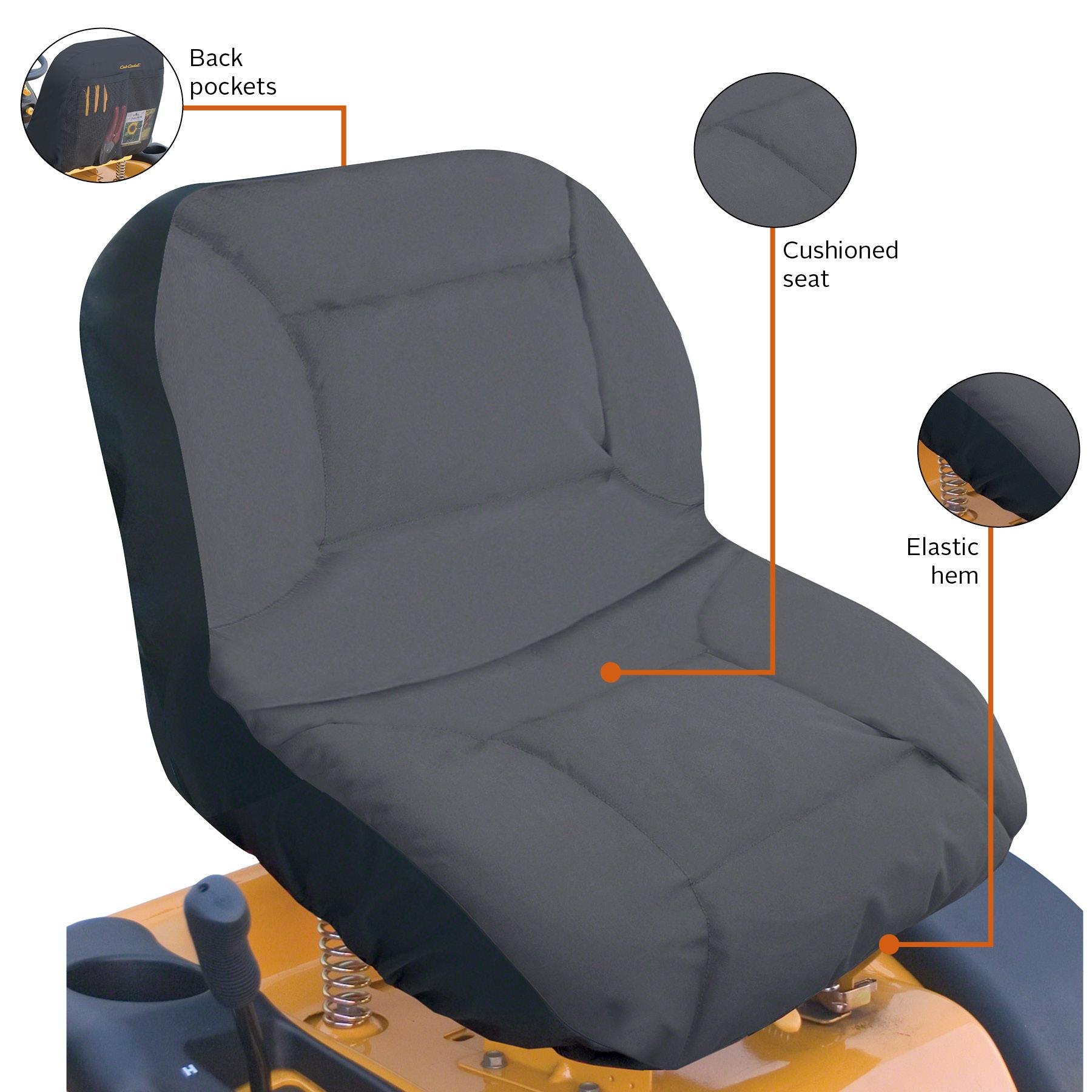 Comfort Covers For Tractors : Classic accessories cub cadet lawn tractor seat