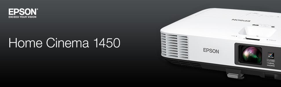 a0805fac52278b Amazon.com: Epson HC1450 Home Cinema 4200 lumens white brightness ...