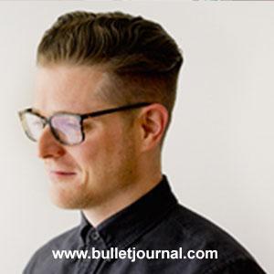 Ryder Carroll creator of Bullet Journal