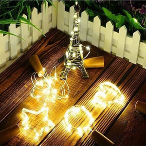 Paso 1. Las luces LED para botellas ...