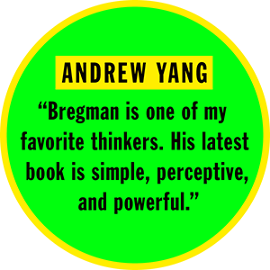 andrew yang, rutger bregman