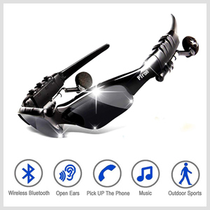 7547ce1a1d6 PTron Viki Bluetooth Headset Sunglasses for All: Amazon.in: Electronics