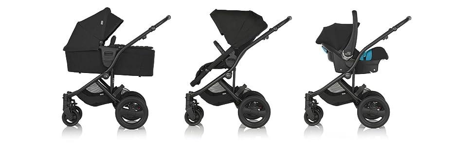 Kollektion 2014 Britax Kinderwagen affinity Kinderwagen-Aufsatz Blue Sky