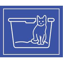white litter box, top loading cat litter box, best selling litter box, keep dog out of litter box,