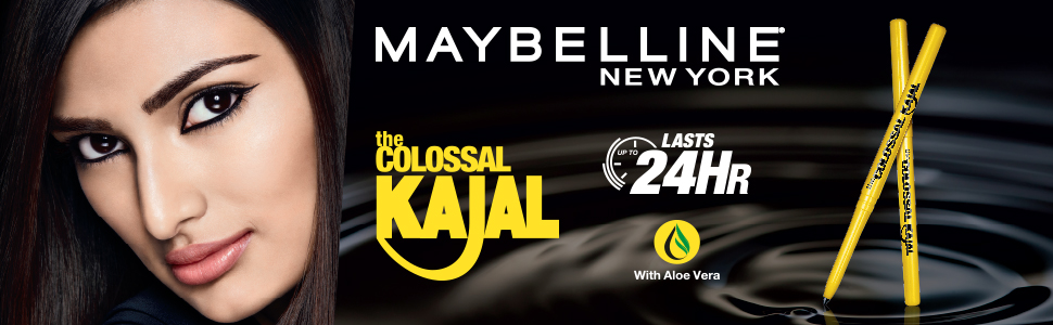Maybelline New York Colossal Kajal, Black