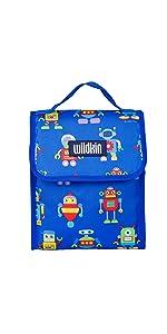 robots lunch bag