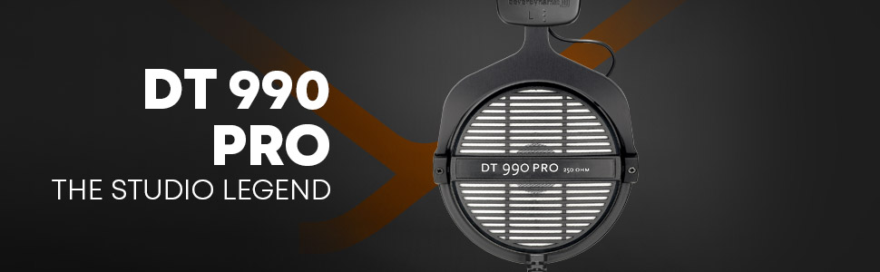 beyerdynamic, professional headphones, headphones, studio, DT 990 Pro, Made in Germany