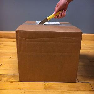 sod buster, case sod buster, everyday use, opening box, mail, everyday tasks, break down boxes