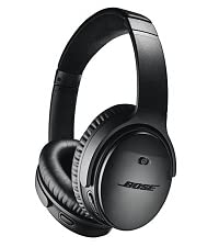 Bose over ear headphones, QuietComfort 35