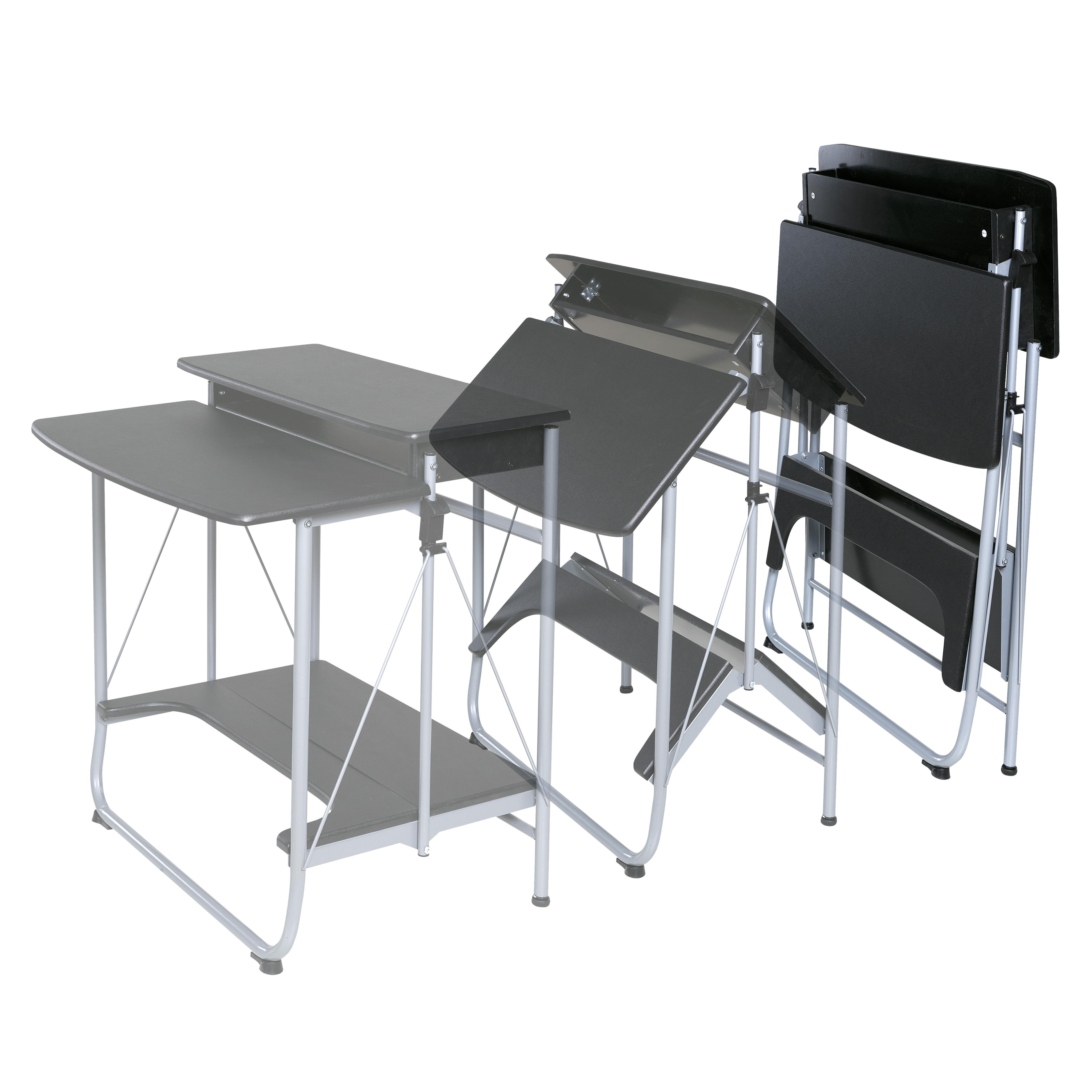 Comfort Products Freeley Folding Computer Desk Amazon Ca