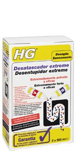 HG 139100130 Desatascador tuberías profesional, 1 L: Amazon ...