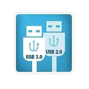 USB 3.0 and 2.0 Compatible
