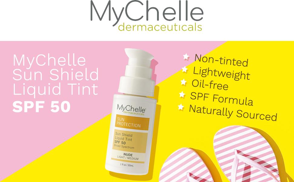 MyChelle Dermaceuticals, Sun Shield Liquid Tint SPF 50