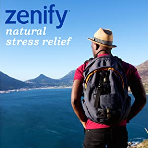 zenify, natural, stress relief, calm, focused