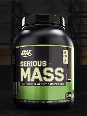 Serious Mass, Weight Gainer, Mass Gainer, Gainer Powder, ON, Serious Mass, Optimum Nutrition