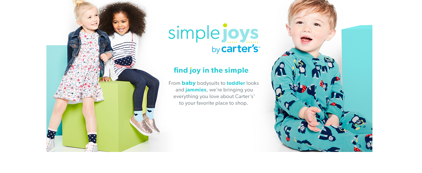 Pacco da 4 Simple Joys by Carters 4-Pack Neutral Fleece Pants Unisex-Bimbi 0-24
