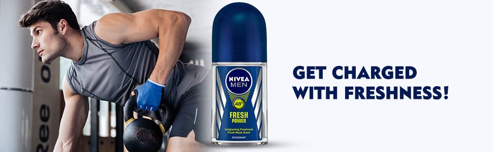 NIVEA MEN FRESH POWER ROLL ON