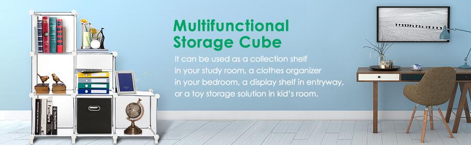 Amazon.com: TomCare Cube - Estantería organizadora de ...