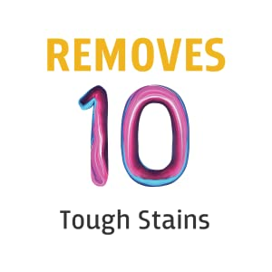 Removes 10 Tough Stains