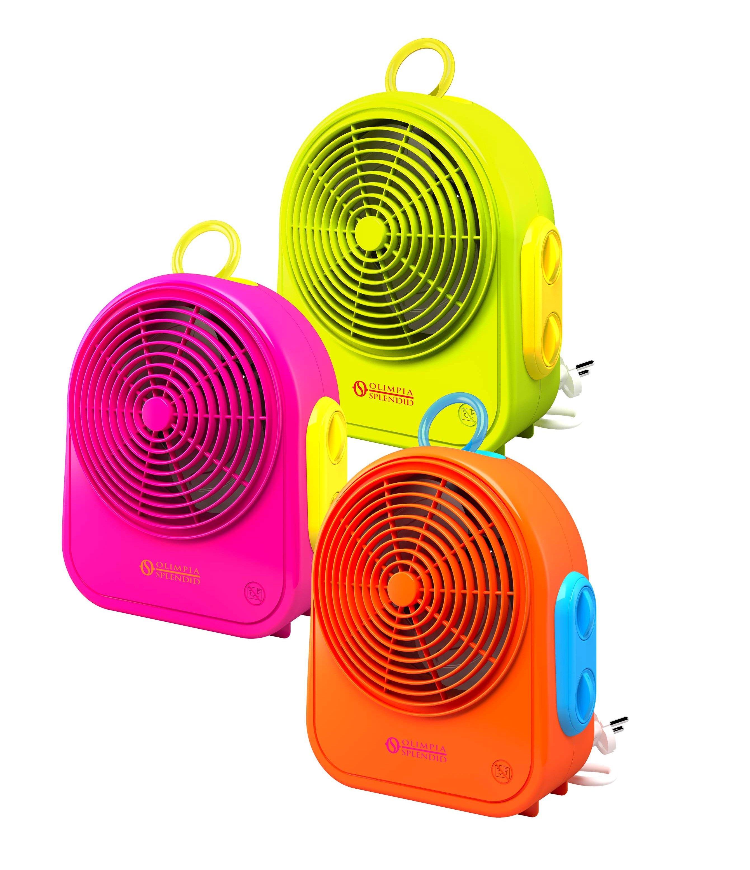 Olimpia splendid 99525 color blast termoventilatore 2000 for Stufetta elettrica amazon