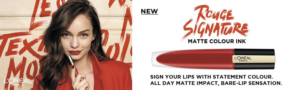 rouge signature liquid matte lip ink colour ink