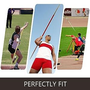 600 Gram 55 Meter Track /& Field Javelin Rated up to 175 feet.
