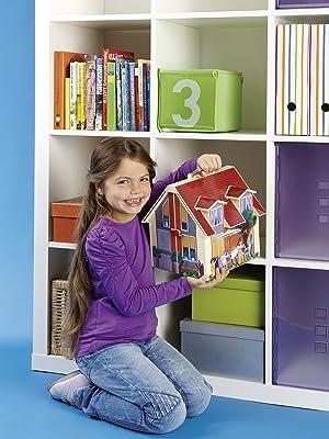 Mitnehm Puppenhaus Spielbild
