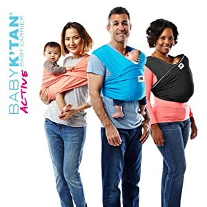 Amazon Com Baby K Tan Active Hi Tech Sport Fabric Wrap