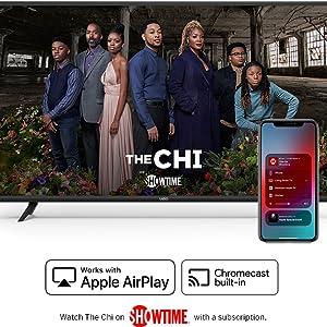 streaming, apple airplay, chromecast