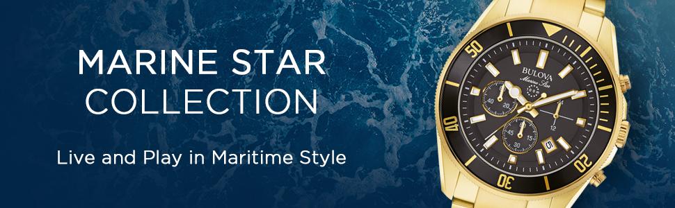 Bulova Men's Marine Star Collection
