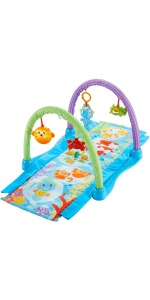 Fisher-Price - Almohadilla de media luna bosque, bebé +0 ...