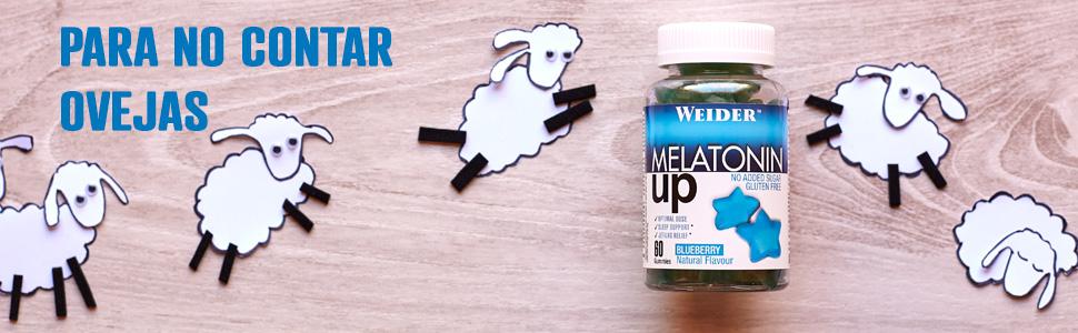 JOE WEIDER VICTORY Melatonine Up, 60 gummies, Sabor Blueberry, 1 mg de melatonina por gominola, Sin gluten y sin azúcar: Amazon.es: Salud y cuidado personal