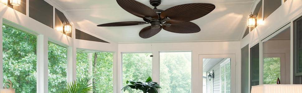 relax u0026 enjoy a beautiful tropical ceiling fan