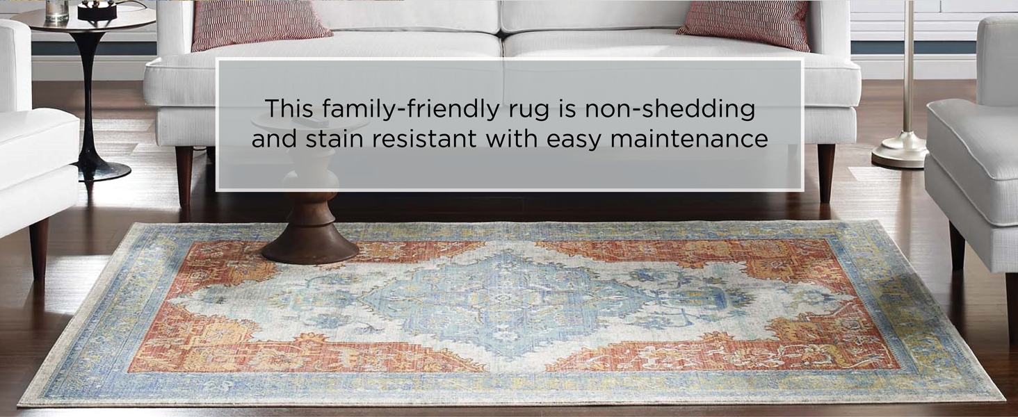 Aztec Rug, Indoor Rug, Living Room, Entryway, Bedroom, Kitchen, Grooved Rubber, Flat weave pile