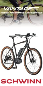 Amazon com : Schwinn Vantage FXe 650b Electric Sport Hybrid